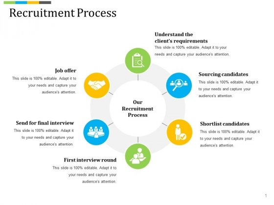 Recruitment Process Ppt PowerPoint Presentation Styles Background Image