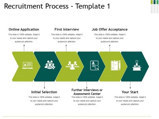 Recruitment Process Template 1 Ppt PowerPoint Presentation Inspiration Files