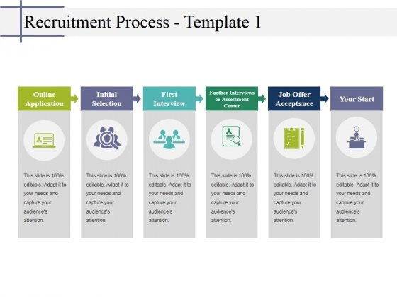 Recruitment Process Template 1 Ppt Powerpoint Presentation