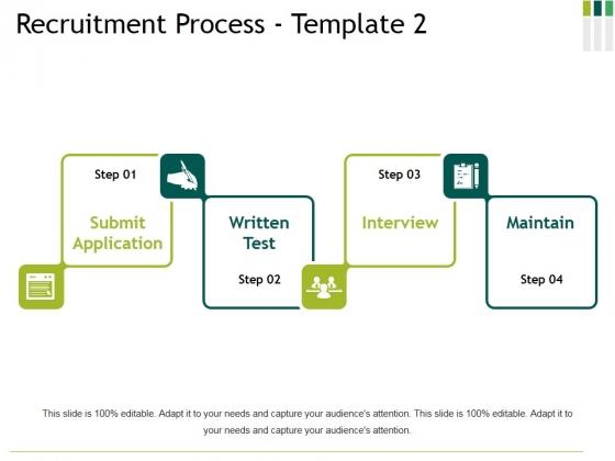 Recruitment Process Template 2 Ppt PowerPoint Presentation Icon Slides