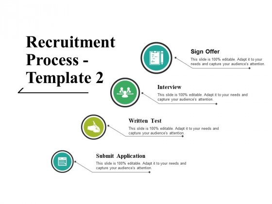 Recruitment Process Template 2 Ppt PowerPoint Presentation Portfolio Rules
