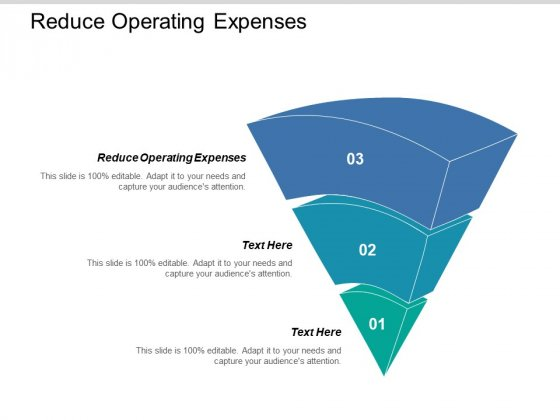 Reduce Operating Expenses Ppt PowerPoint Presentation Outline Background Designs Cpb