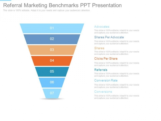 Referral Marketing Benchmarks Ppt Presentation