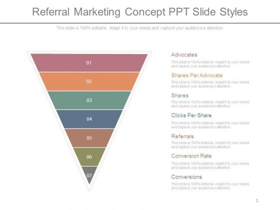 Referral Marketing Concept Ppt Slide Styles