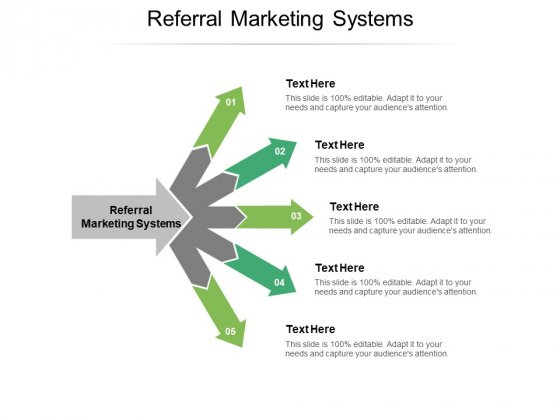 Referral Marketing Systems Ppt PowerPoint Presentation Information Cpb