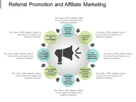 Referral Promotion And Affiliate Marketing Ppt Powerpoint Presentation Summary Graphics