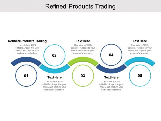 Refined Products Trading Ppt PowerPoint Presentation Diagram Lists Cpb