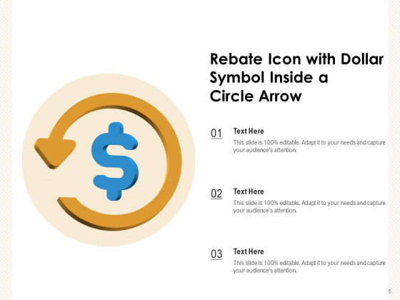 Refund_Coin_Rebate_Monitor_Showing_Circle_Arrow_Ppt_PowerPoint_Presentation_Complete_Deck_Slide_5