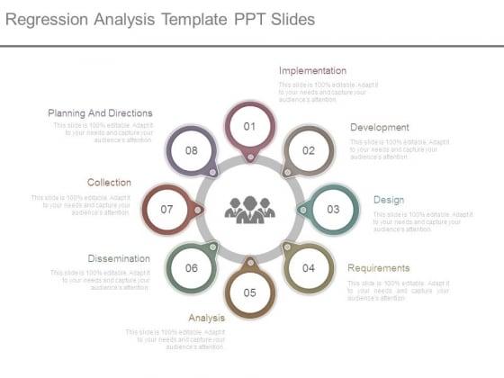 Regression Analysis Template Ppt Slides