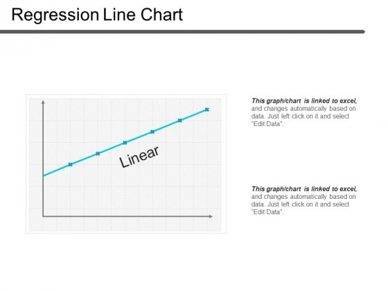 Regression Line Chart Ppt PowerPoint Presentation Visual Aids Summary