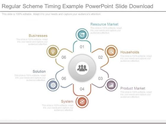 Regular Scheme Timing Example Powerpoint Slide Download