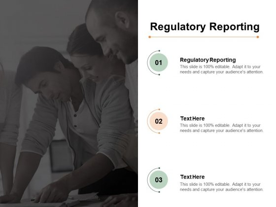 Regulatory Reporting Ppt PowerPoint Presentation Professional Backgrounds Cpb Pdf