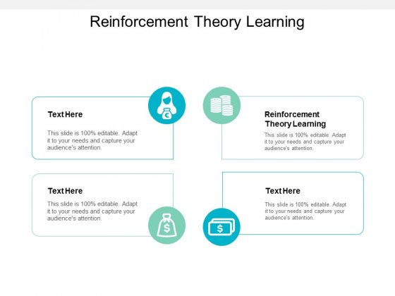 Reinforcement Theory Learning Ppt PowerPoint Presentation Ideas Guidelines Cpb