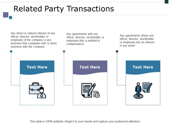 Related Party Transactions Ppt PowerPoint Presentation Show Vector