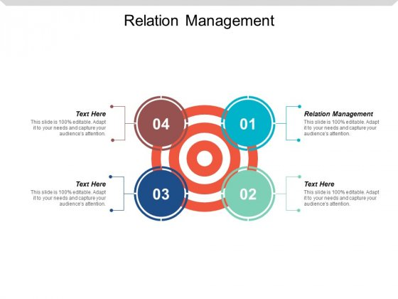 Relation Management Ppt Powerpoint Presentation Styles Aids Cpb