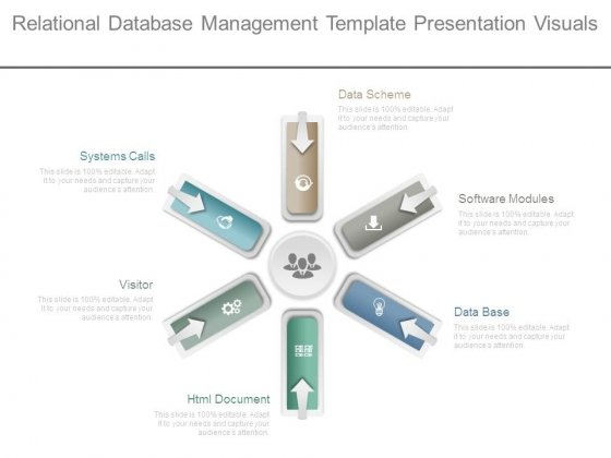 Relational Database Management Template Presentation Visuals