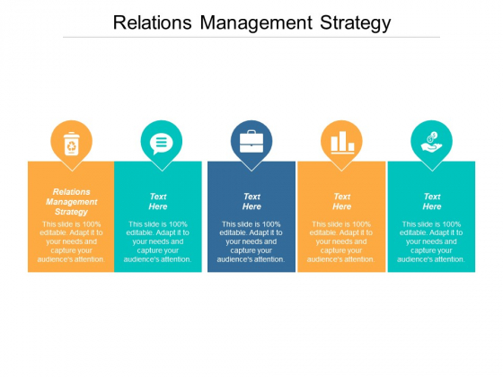 Relations Management Strategy Ppt Powerpoint Presentation Layouts Graphics Pictures Cpb