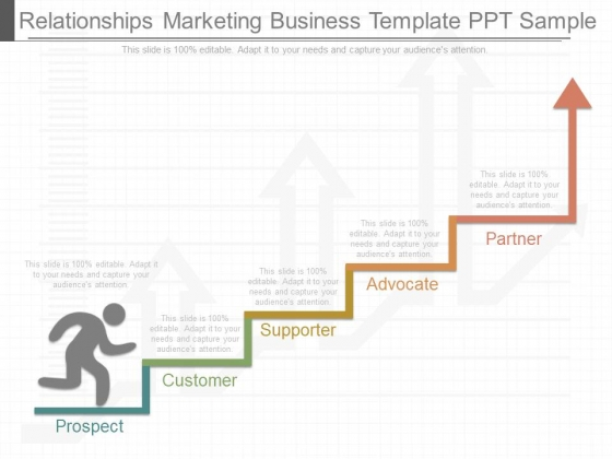 Relationships Marketing Business Template Ppt Sample