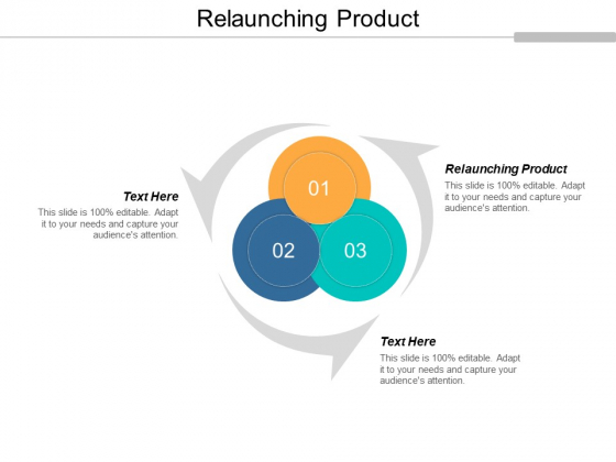 Relaunching Product Ppt PowerPoint Presentation Visual Aids Files Cpb