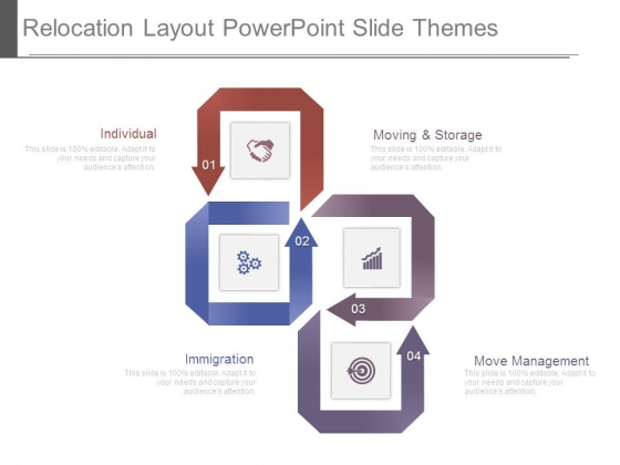 Relocation Layout Powerpoint Slide Themes