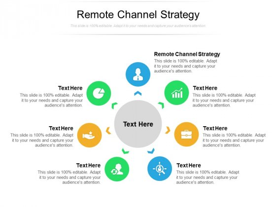 Remote Channel Strategy Ppt PowerPoint Presentation Infographics Inspiration Cpb Pdf