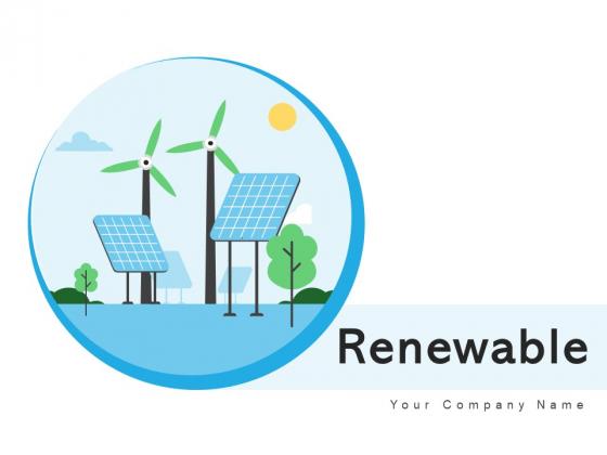 Renewable_Circular_Arrows_Ppt_PowerPoint_Presentation_Complete_Deck_With_Slides_Slide_1