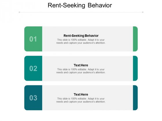 Rent Seeking Behaviour Ppt PowerPoint Presentation Professional Examples Cpb