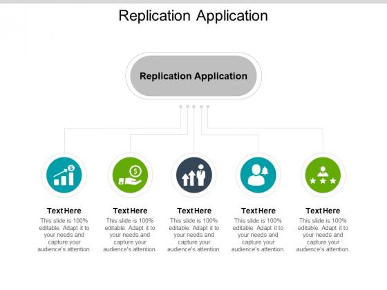 Replication Application Ppt PowerPoint Presentation Portfolio Picture Cpb
