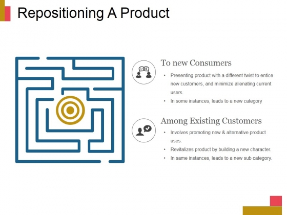 Repositioning A Product Ppt PowerPoint Presentation Example