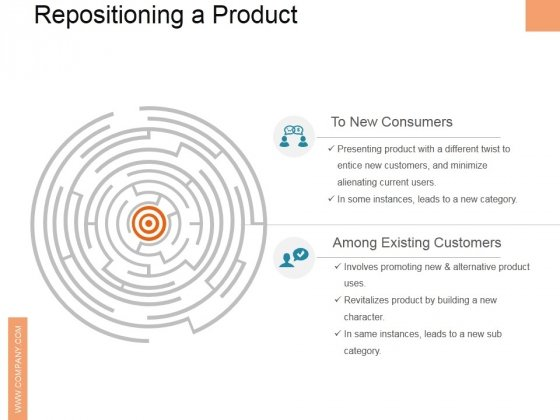 Repositioning A Product Ppt PowerPoint Presentation Model Maker