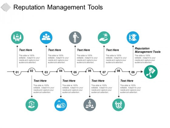 Reputation Management Tools Ppt PowerPoint Presentation Infographic Template Deck Cpb