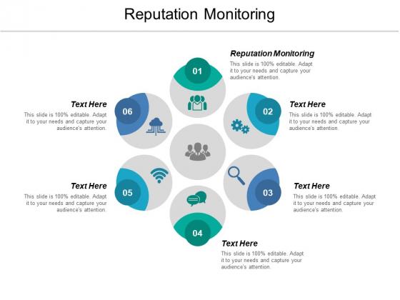 Reputation Monitoring Ppt PowerPoint Presentation Show Slideshow Cpb