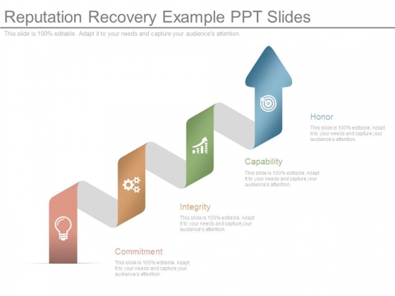 Reputation Recovery Example Ppt Slides