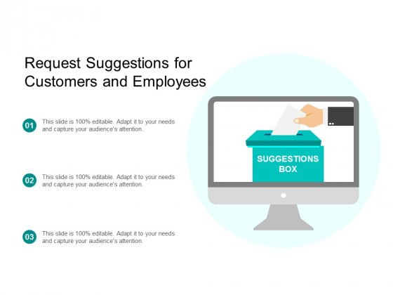 Request Suggestions For Customers And Employees Ppt Powerpoint Presentation Gallery Slide Download
