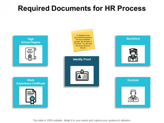 Required Documents For Hr Process Ppt PowerPoint Presentation Layouts Show