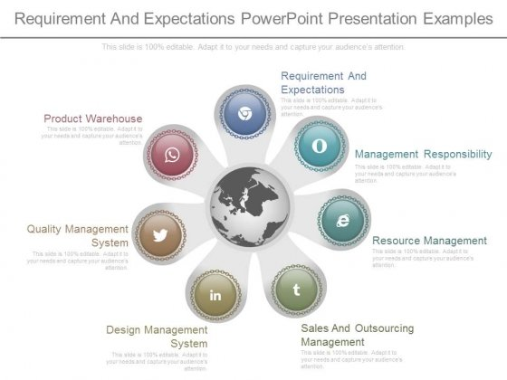 Requirement And Expectations Powerpoint Presentation Examples