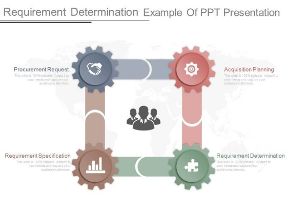 Requirement Determination Example Of Ppt Presentation