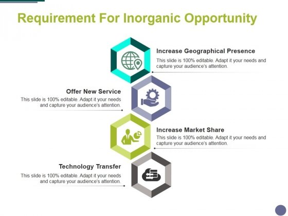 Requirement For Inorganic Opportunity Ppt PowerPoint Presentation Gallery Portrait