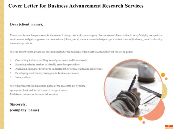 Research_Advancement_Services_Proposal_Ppt_PowerPoint_Presentation_Complete_Deck_With_Slides_Slide_2