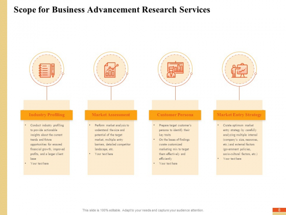 Research_Advancement_Services_Proposal_Ppt_PowerPoint_Presentation_Complete_Deck_With_Slides_Slide_8