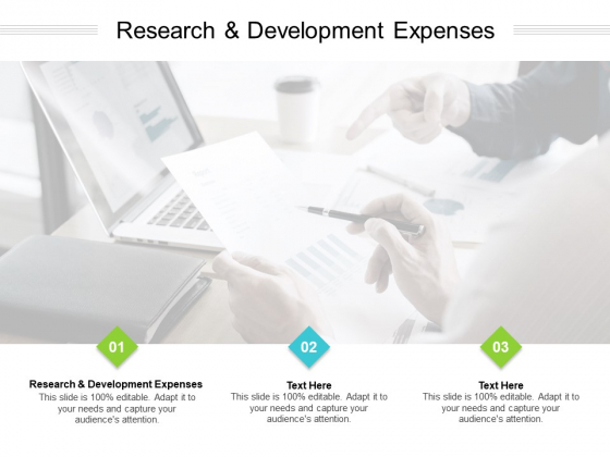 Research And Development Expenses Ppt PowerPoint Presentation Summary Introduction Cpb Pdf