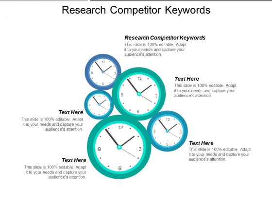 Research Competitor Keywords Ppt PowerPoint Presentation Ideas Shapes Cpb