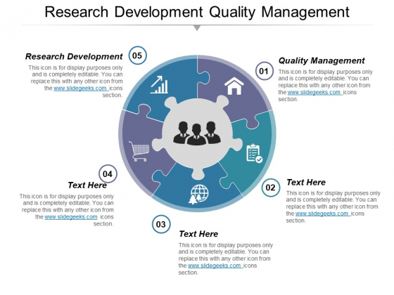 Research Development Quality Management Ppt PowerPoint Presentation Gallery Graphic Images