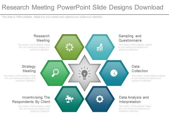 Research Meeting Powerpoint Slide Designs Download