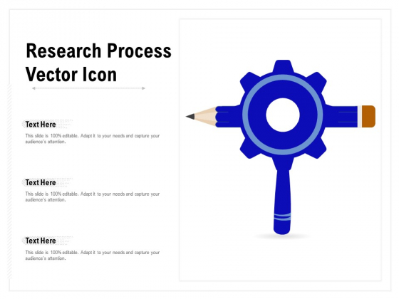 Research Process Vector Icon Ppt PowerPoint Presentation File Templates PDF
