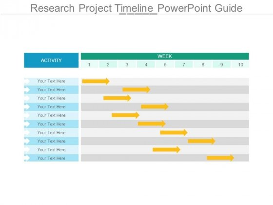 Research Project Timeline Powerpoint Guide