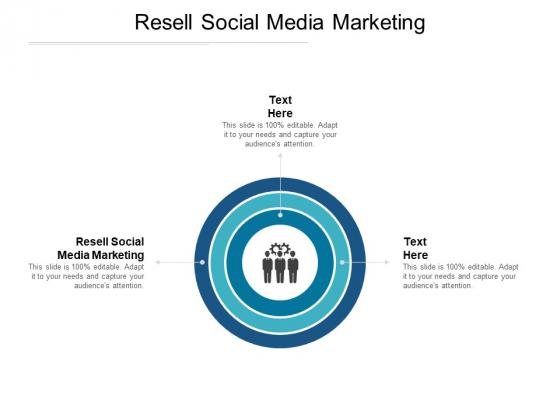 Resell Social Media Marketing Ppt PowerPoint Presentation Summary Slide Cpb Pdf