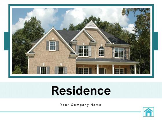 Residence Hardwood Finish Lavish Interior Ppt PowerPoint Presentation Complete Deck