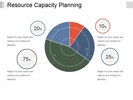 Resource Capacity Planning Template 1 Ppt PowerPoint Presentation Infographics Topics
