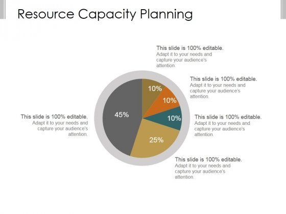 Resource Capacity Planning Template 2 Ppt PowerPoint Presentation Microsoft